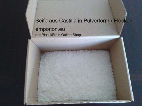 Seife aus Castilla in Pulverform​ / Flocken
